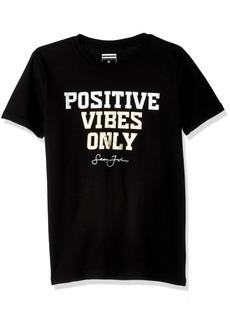 Sean John Boys' Big Positive Vibes Short Sleeve Tee  XL