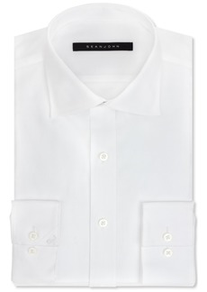 Sean John Classic/Regular Fit Men's Big and Tall Solid Classic-Fit Dress Shirt
