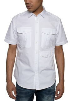 Sean John Men's 3-Pocket Flight Shirt
