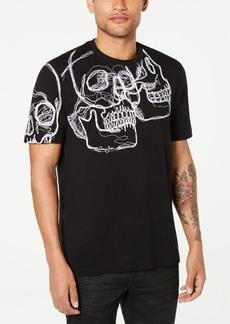 Sean John Men's 3D Skull Graphic T-Shirt