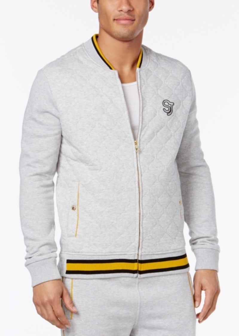 Product Features Know your style inside and out with the Sean John™ Reversible Bomber.