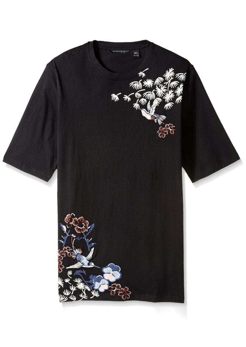 Sean john sean john men 39 s big and tall floral bird tee 3xl for Sean john t shirts for mens