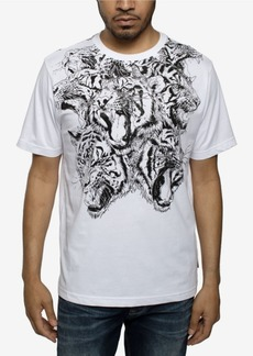 Sean John Men's Big and Tall Hydra Tiger Tee