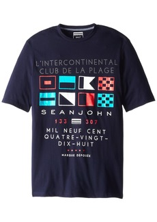 Sean John Men's Big-Tall Boat Club T-Shirt  T
