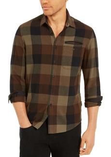 Sean John Men's Buffalo Plaid Flannel Shirt