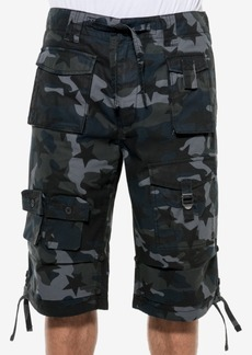 "Sean John Men's Camo Cargo 14"" Inseam Shorts"