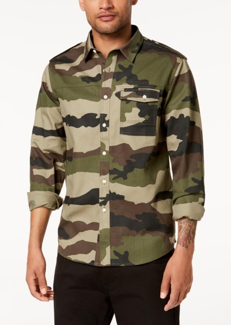 Sean John Men's Camo Shirt
