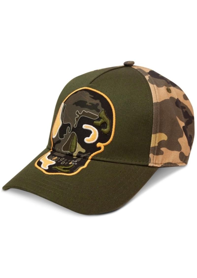 Sean John Men's Camo Skull Hat