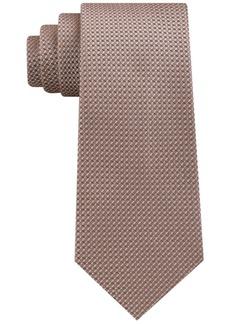 Sean John Men's Chain Link Texture Silk Tie