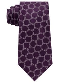 Sean John Men's City Dot Silk Tie