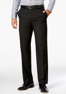 Sean John Men's Classic-Fit Black Solid Pants
