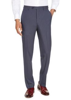 Sean John Men's Classic-Fit Blue Pinstripe Suit Separate Pants