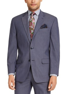 Sean John Men's Classic-Fit Blue Solid Suit Jacket