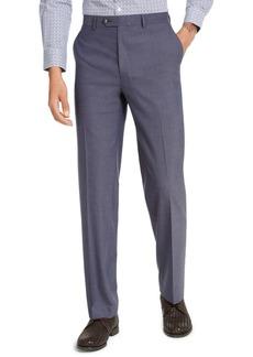 Sean John Men's Classic-Fit Blue Solid Suit Pants