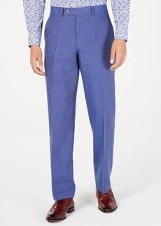 Sean John Men's Classic-Fit Blue Textured Suit Pants