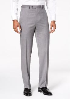 Sean John Men's Classic-Fit Stretch Gray Tic Suit Pants