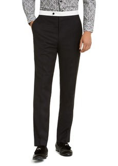 Sean John Men's Classic-Fit Stretch Tuxedo Pants