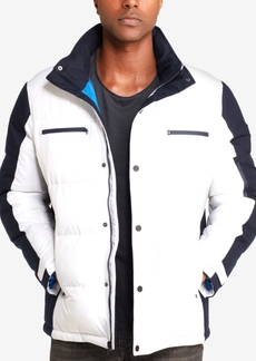 Sean John Men's Colorblocked Ski Jacket, Created for Macy's