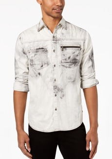Sean John Men's Denim Pocket Shirt, Created for Macy's