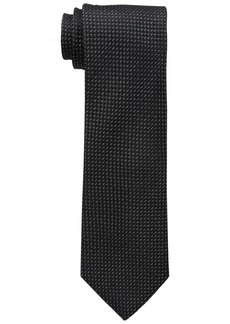 Sean John Men's Diamond Solid Unsolid Tie black