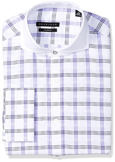 Sean John Men's Dress Shirt Regular Fit Check