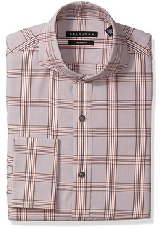 Sean John Men's Dress Shirt Regular Fit Plaid