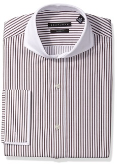 Sean John Men's Dress Shirt Regular Fit Stripe