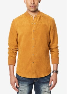Sean John Men's Faux Suede Shirt Jacket, Created for Macy's