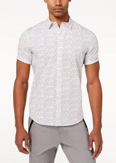 Sean John Men's Flight Geo-Print Shirt, Created for Macy's