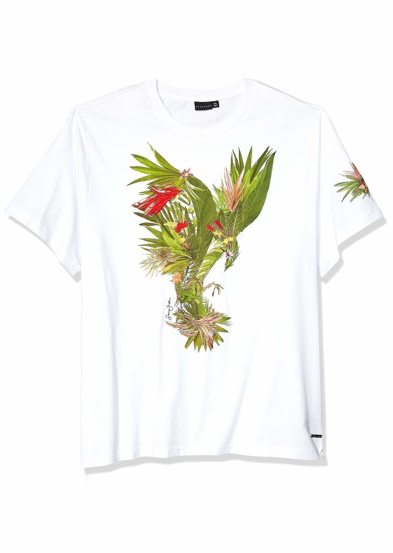 Sean John Men's Floral Print Tee  4XL