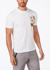 Sean John Men's Floral Layered Graphic T-Shirt