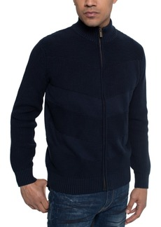 Sean John Men's Full-Zip Sweater Jacket