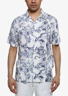 Sean John Men's Greek God Printed Shirt