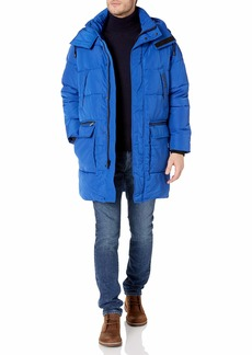 Sean John Men's Hooded 7 Pocket Parka Jacket