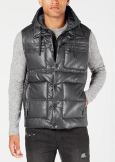 Sean John Men's Hooded Puffer Vest