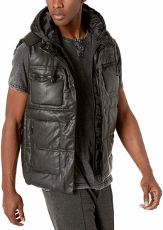 Sean John Men's Hooded Puffer Vest