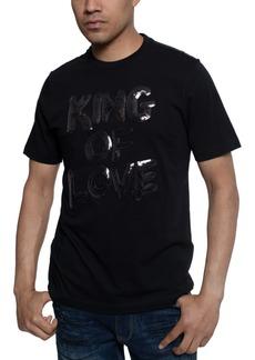 Sean John Men's King Of Love Beaded T-Shirt