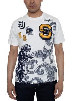Sean John Men's King Paisley Panther Graphic T-Shirt