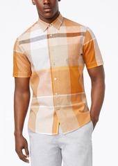 Sean John Men's Large-Plaid Shirt