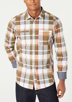 Sean John Men's Legacy Plaid Shirt