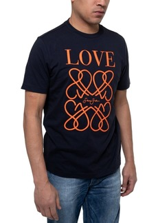 Sean John Men's Love Embroidered Graphic T-shirt