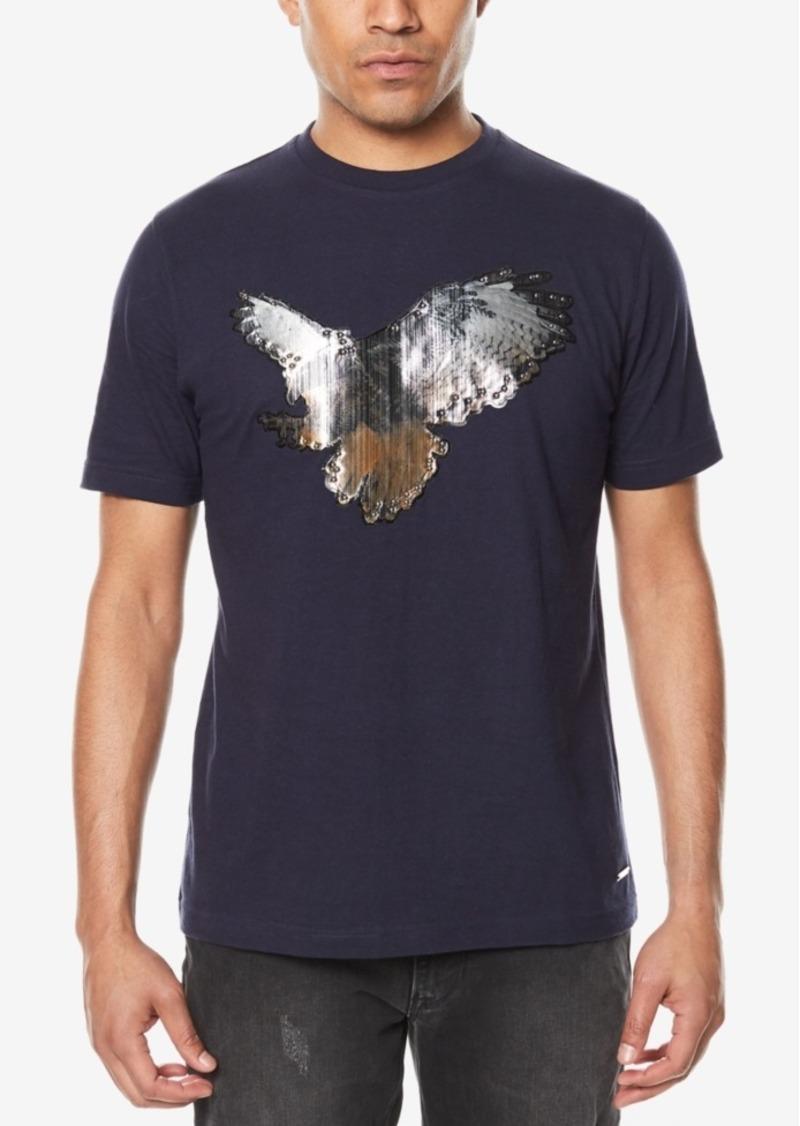 Sean john sean john men 39 s metallic studded eagle t shirt for Sean john t shirts for mens