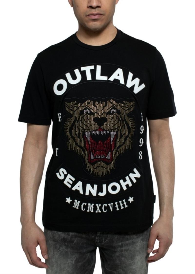 Sean John Men's Outlaw Graphic T-Shirt