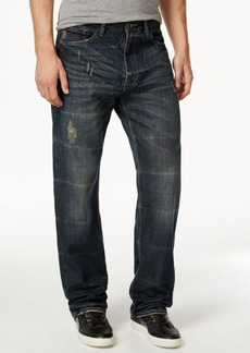 Sean John Men's Patch-Pocket Hamilton Relaxed Fit, Destructed Jeans, Created for Macy's