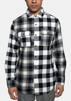 Sean John Men's Pattern Blocked Shirt
