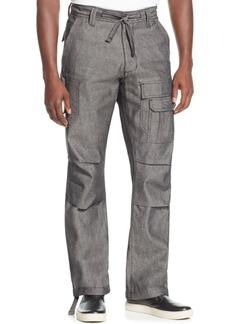 Sean John Men's Pleat Pocket Flight Cargo Pants, Created for Macy's