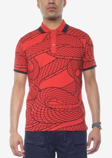 Sean John Men's Printed Polo, Created for Macy's