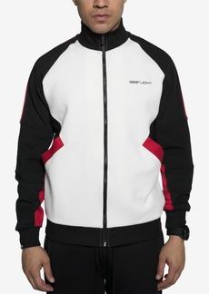 Sean John Men's Racing Colorblocked Track Jacket
