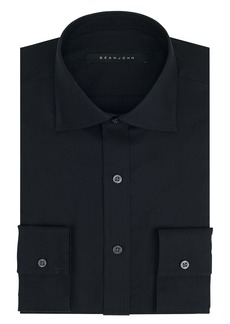 "Sean John Men's Regular Fit Solid Spread Collar Dress Shirt  15"" Neck 32""-33"" Sleeve"