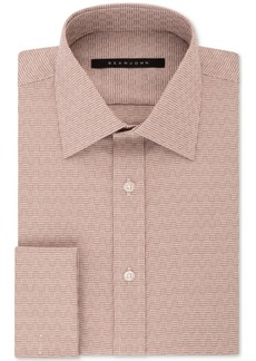 Sean John Men's Classic/Regular Fit Solid French Cuff Dress Shirt